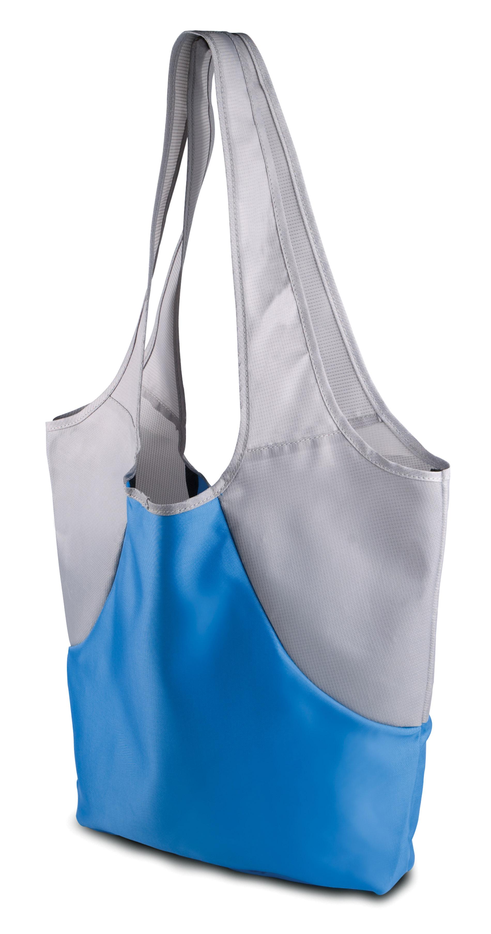 Aqua blue - light grey ki0201