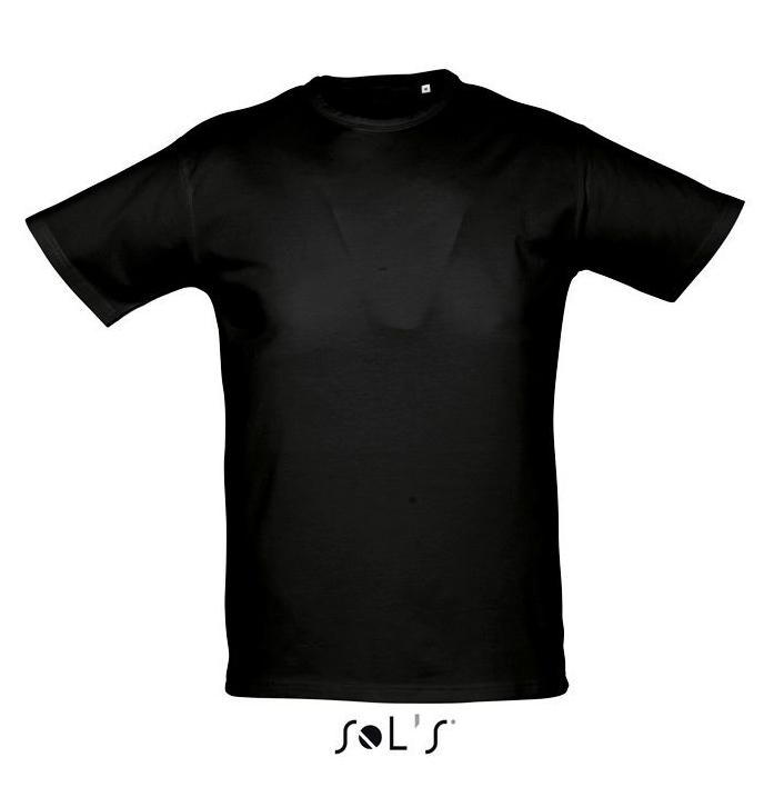 Sols Milano t-shirt zwart