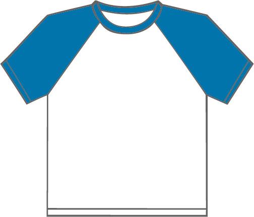 K330 White - Royal Blue