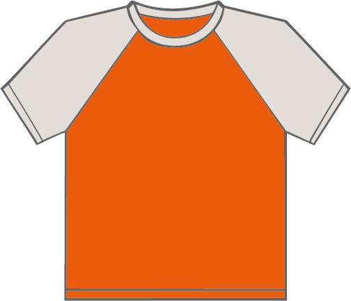 K330 Orange - Light Grey