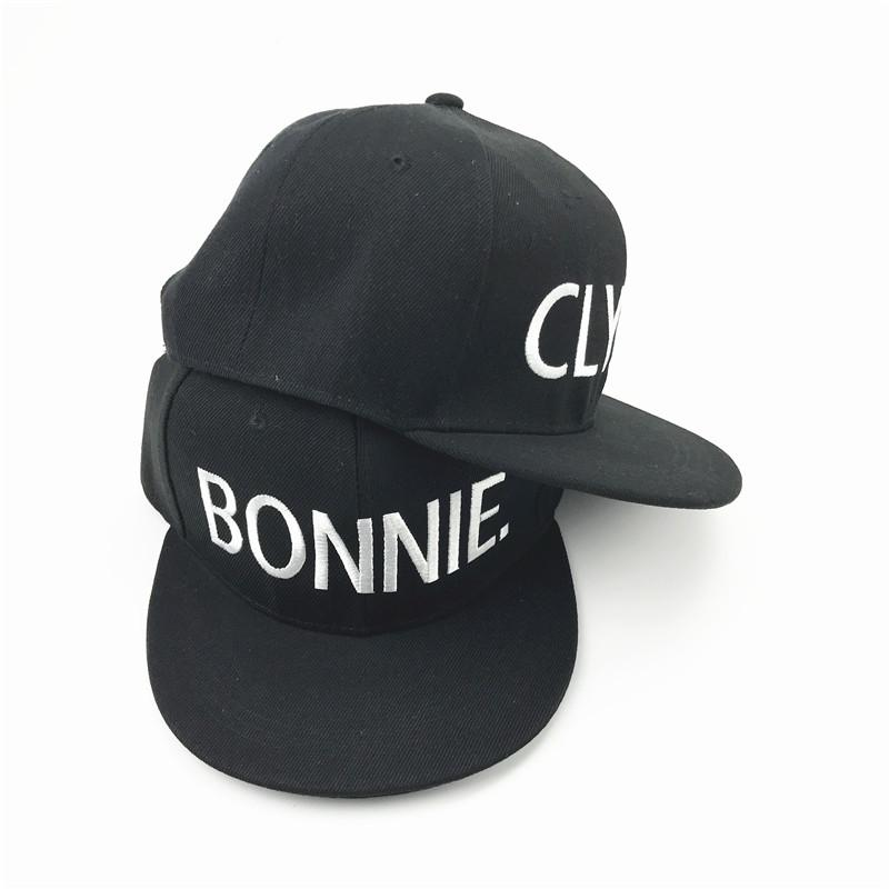 Bonnie Clyde pet cap snapback