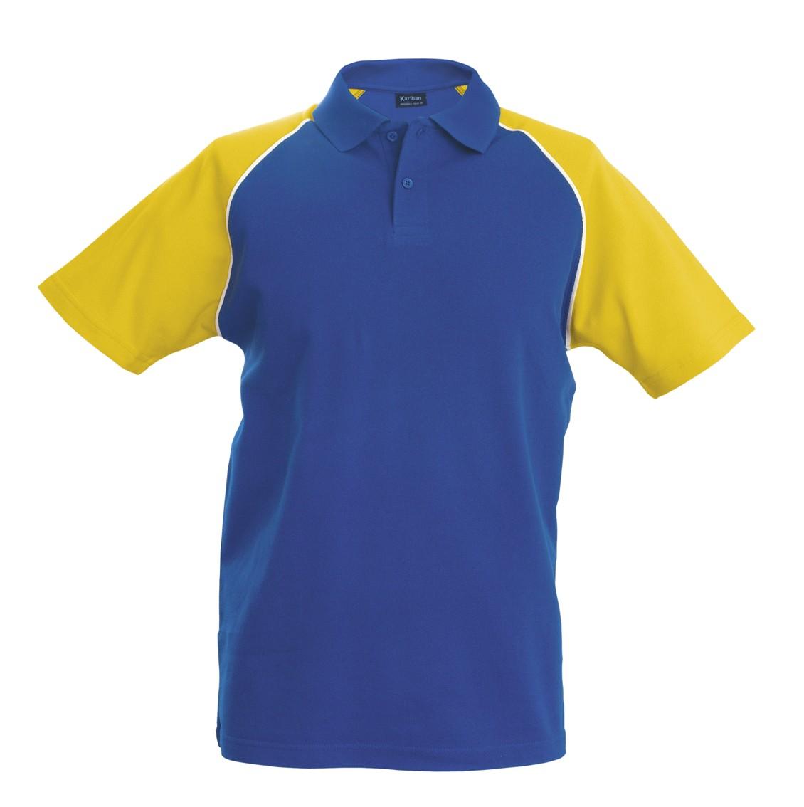K226 Royal Blue - Yellow