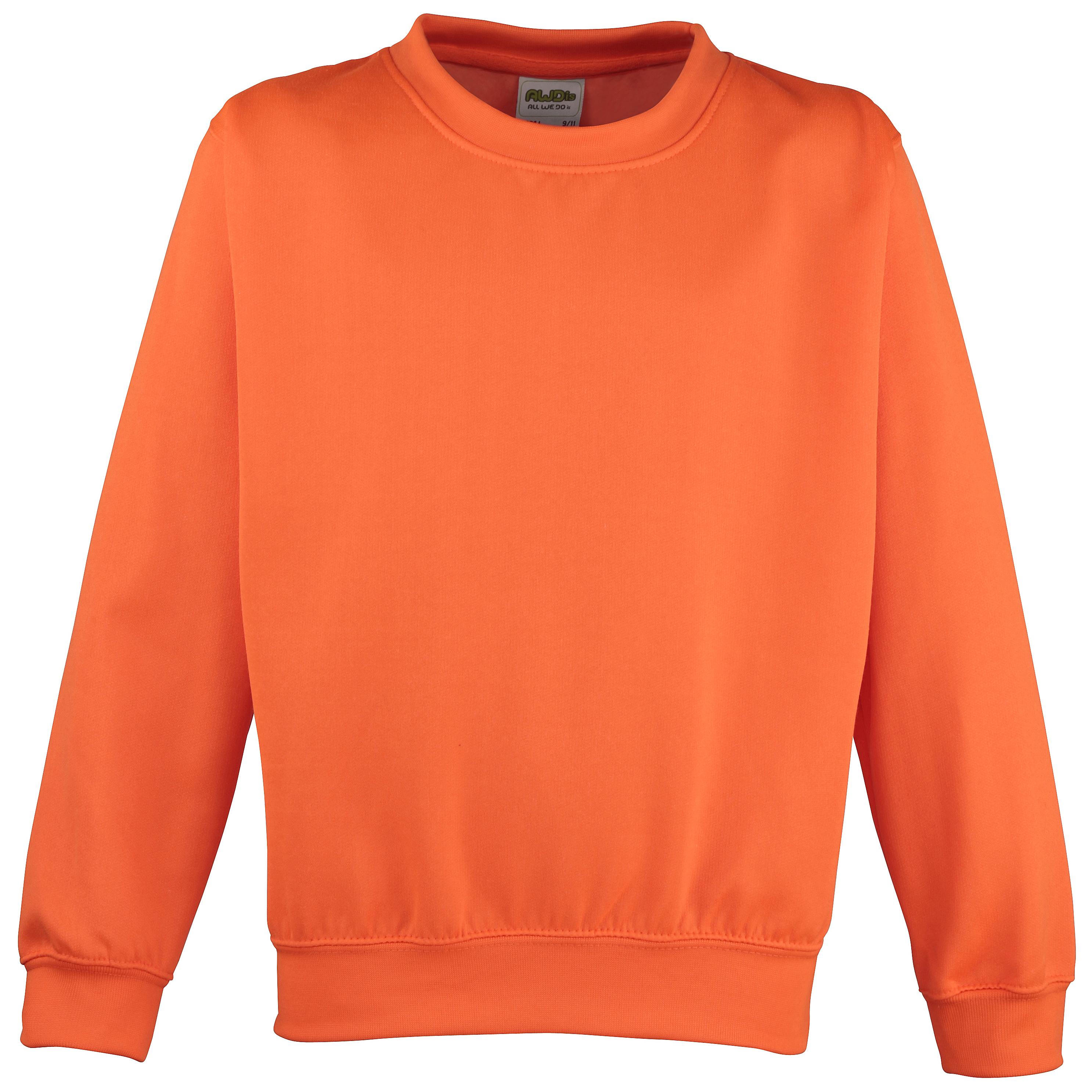 AWDis Electric Sweater orange