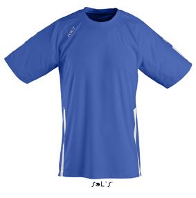 Sols Wembley Sportshirt Royal Blue - White
