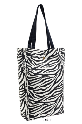 Sols Reverso Black - Zebra Print