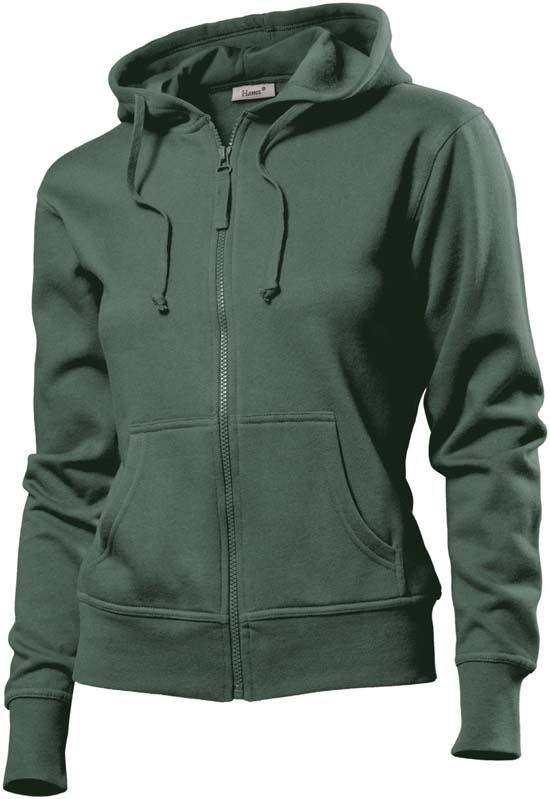 Hanes Spicy dames hoodie 6510 Khaki