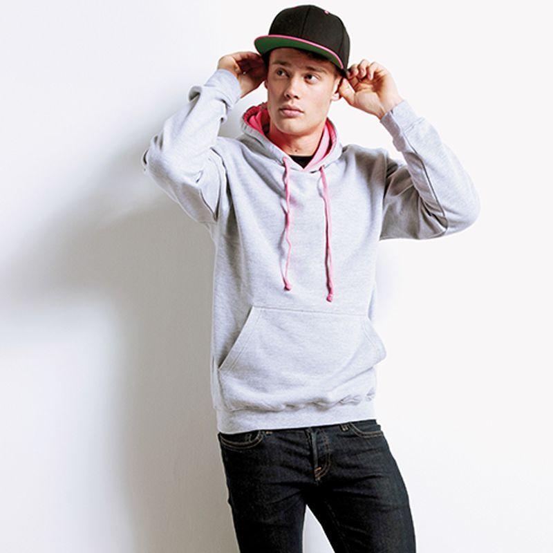 AWDis Hoods Superbright hoodie sfeerfoto