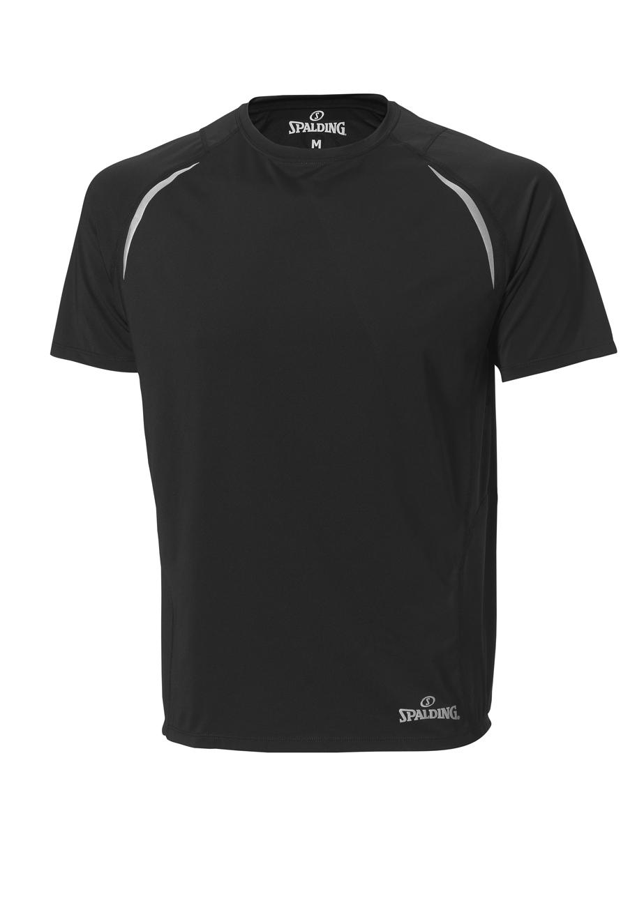Spalding Endurance heren T-shirt Zwart