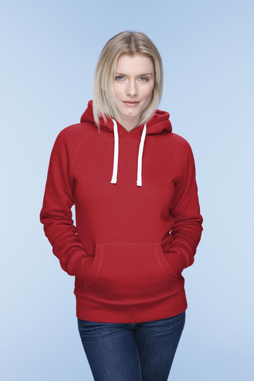 Mantis Dames Superstar Hoodie MM74 Warm red