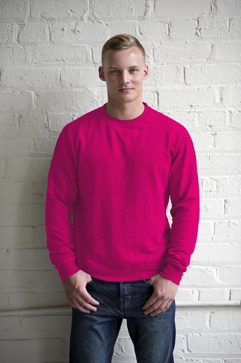 AWDis Heather Sweater JH040 Pink Heather