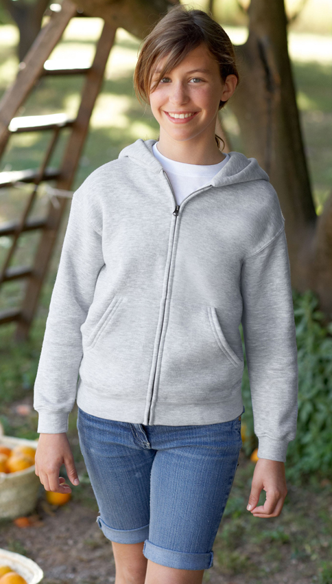 Fruit of the Loom Kids Zip Hoodie Sweater Foto 1