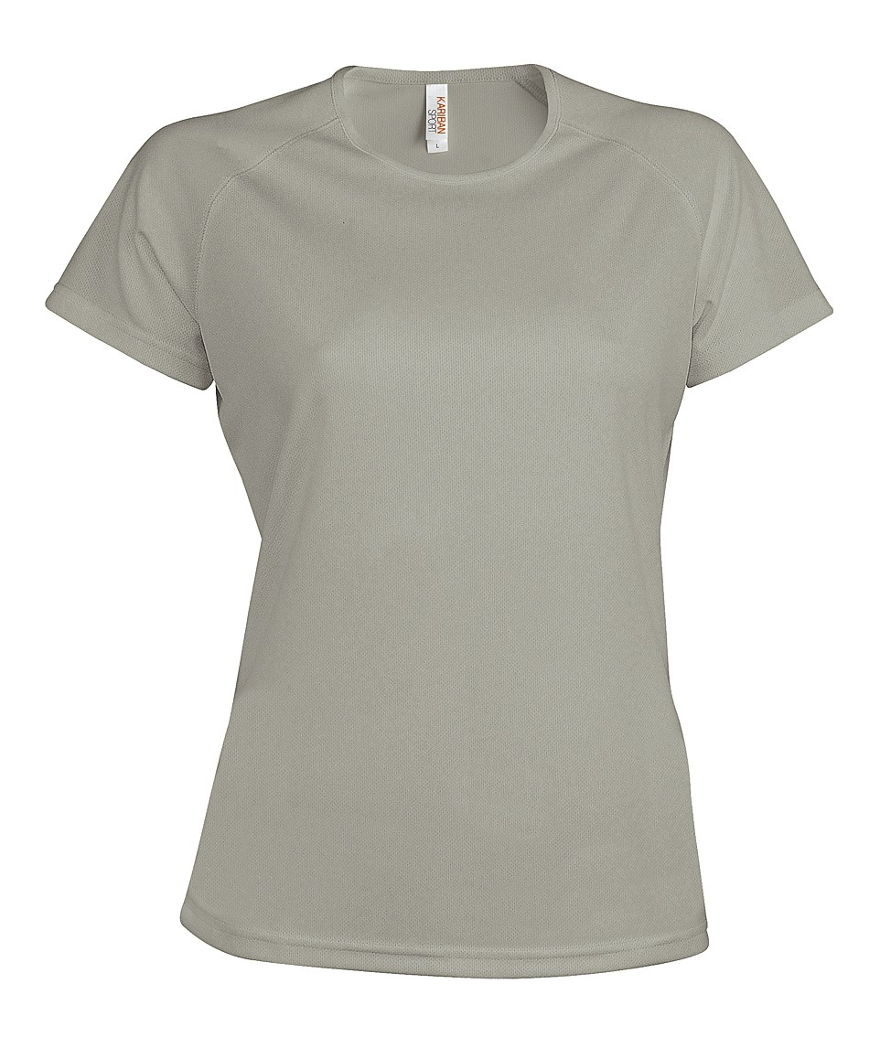 Heren Sport T-shirt KS030 Fine Grey