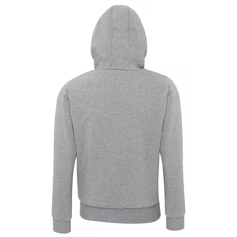 Affordable Fashion Sherpa fleece lined zip hoodie achterzijde