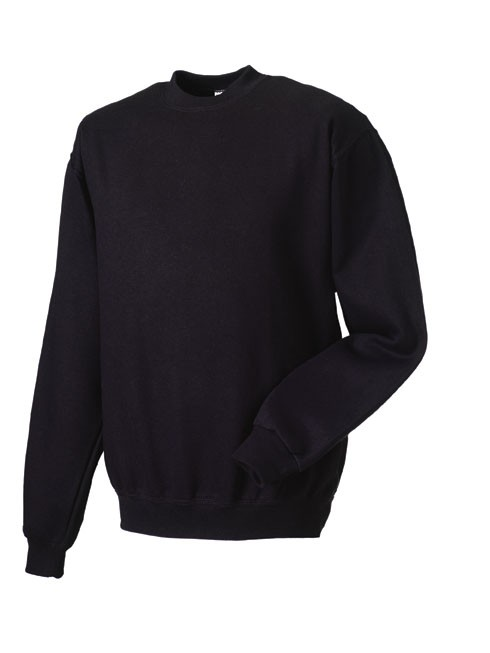 Russell Set-in Sleeve Sweatshirt RU262M Black