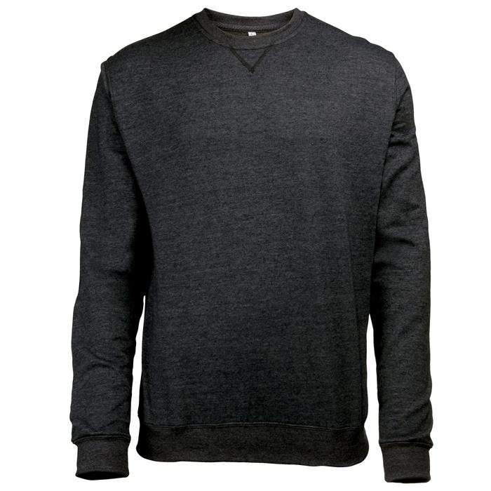AWDis Heather Sweatshirt black
