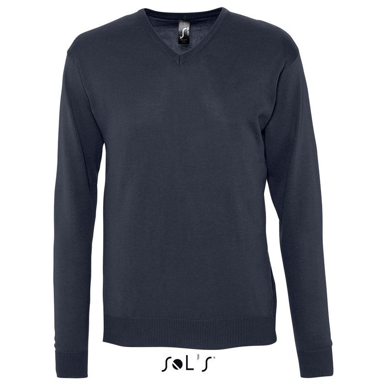 Sols Galaxy Men V-hals Sweater navy