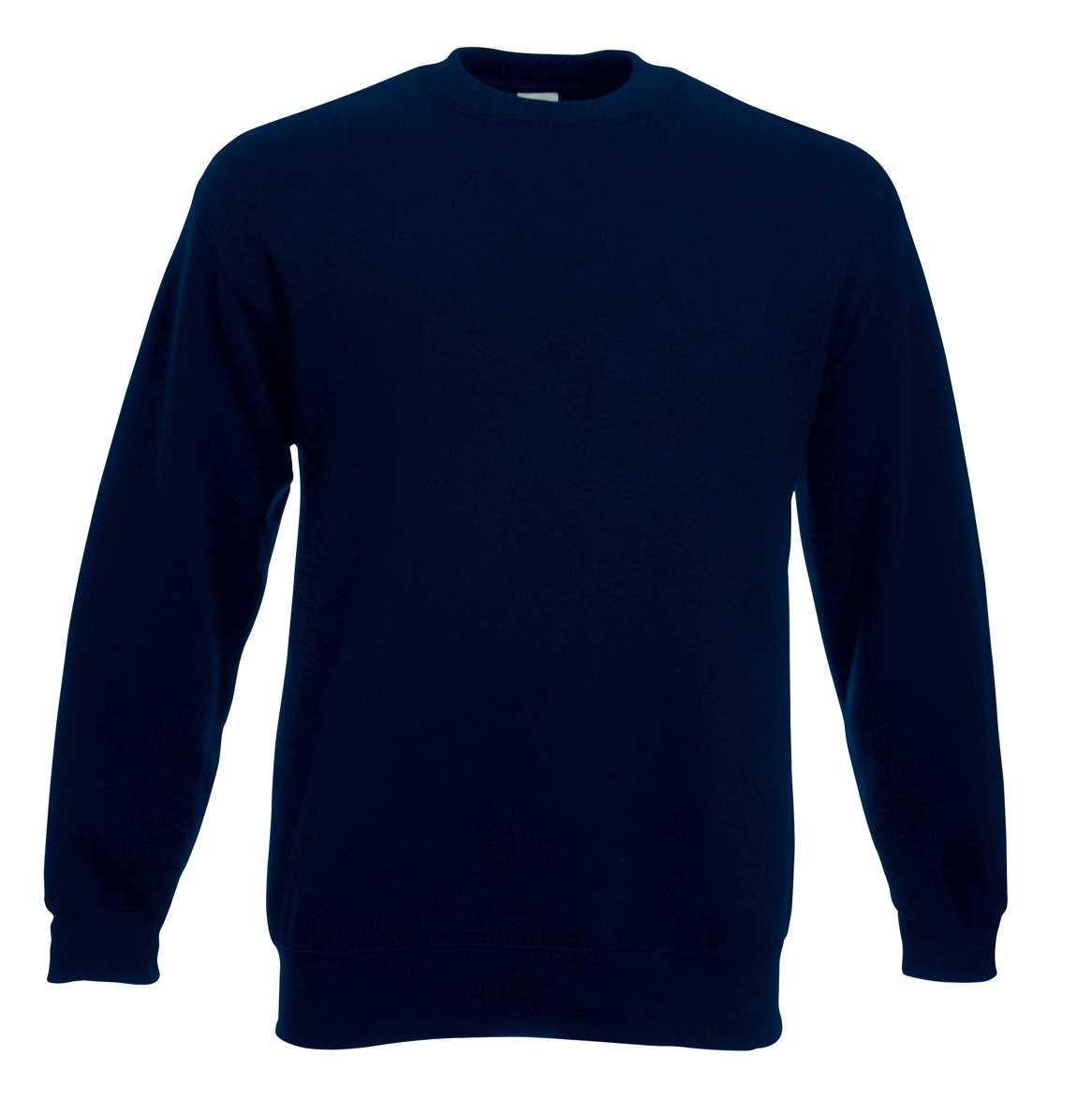 Fruit of the Loom Set-In Sweater 622020 Deep Navy