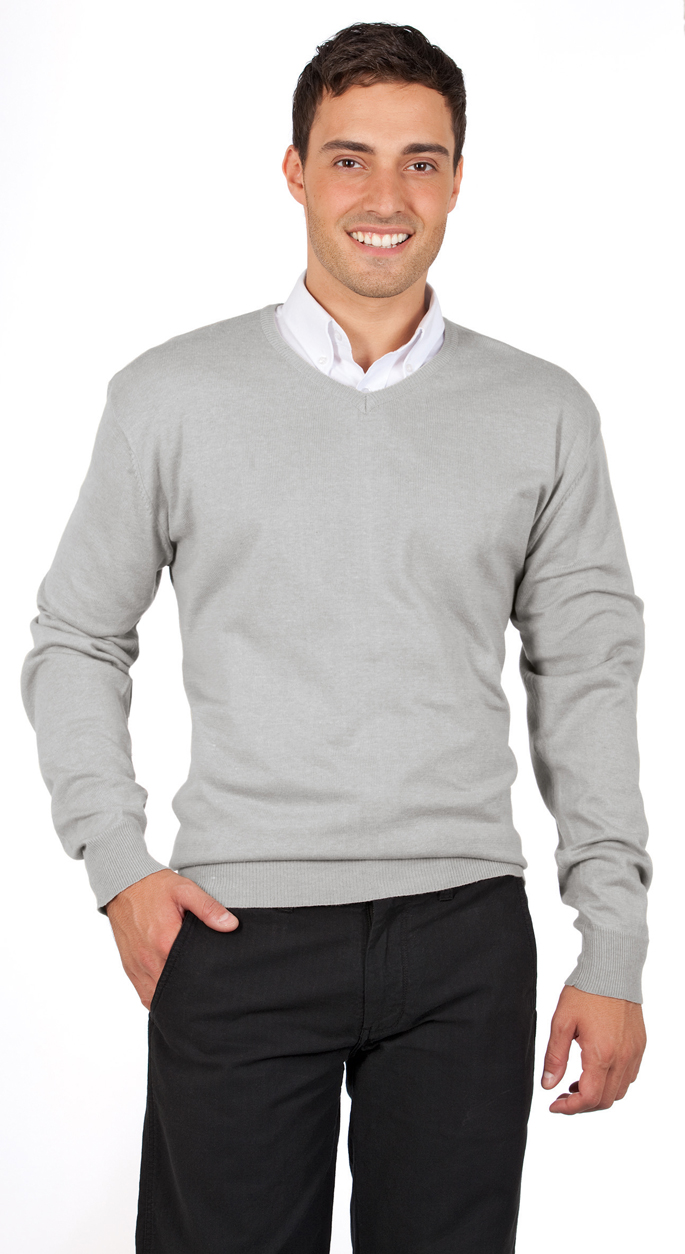 Sols Galaxy Men v-hals sweater sfeerfoto