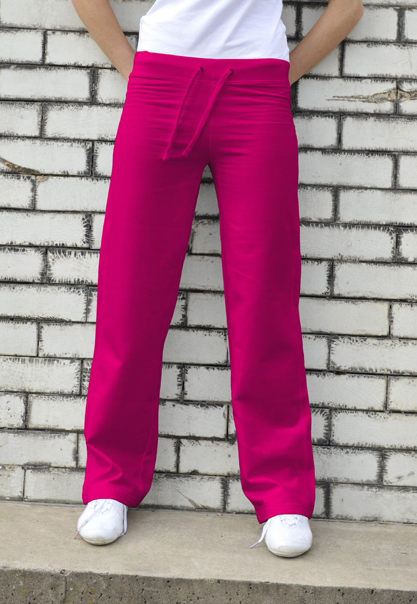 AWDis Girlie Joggingbroek JH075 Hot Pink