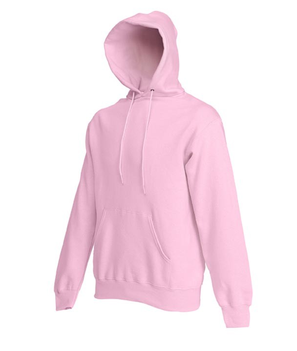 Fruit of the Loom hoodie sweater SC244C Light Pink