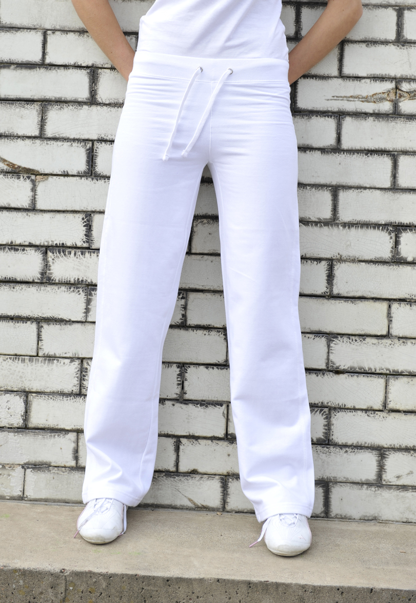 AWDis Girlie Joggingbroek JH075 Arctic White