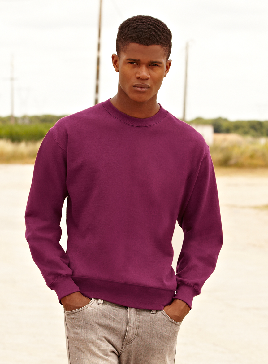 Fruit of the Loom Set-In Sweater 622020 Foto