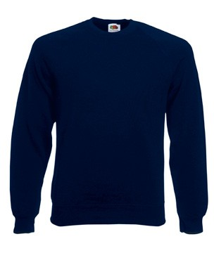 Fruit of the Loom Raglan Sweater SC4 Deep Navy