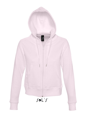 Sols Success Zip Hoodie sweater Pale Pink