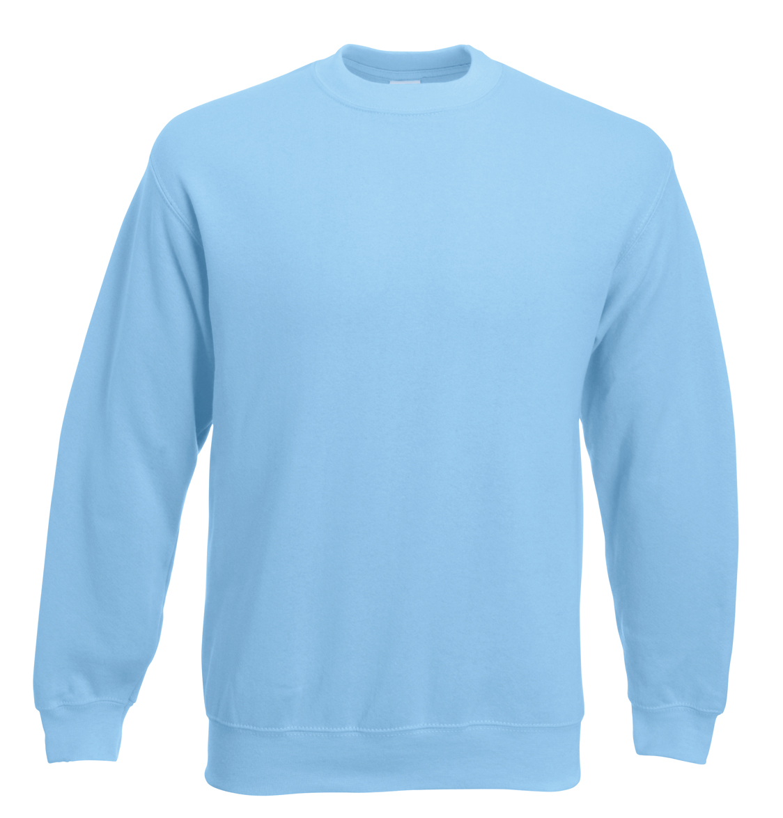 Fruit of the Loom Set-In Sweater 622020 Sky Blue