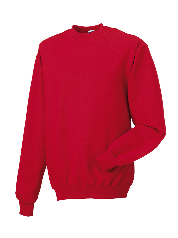 Russell Gold Label Set-in Sweater RU162MC Classic Red