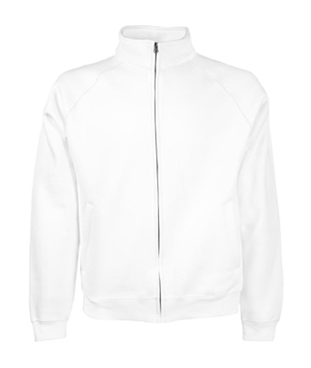 Fruit of the Loom Sweat Jacket White