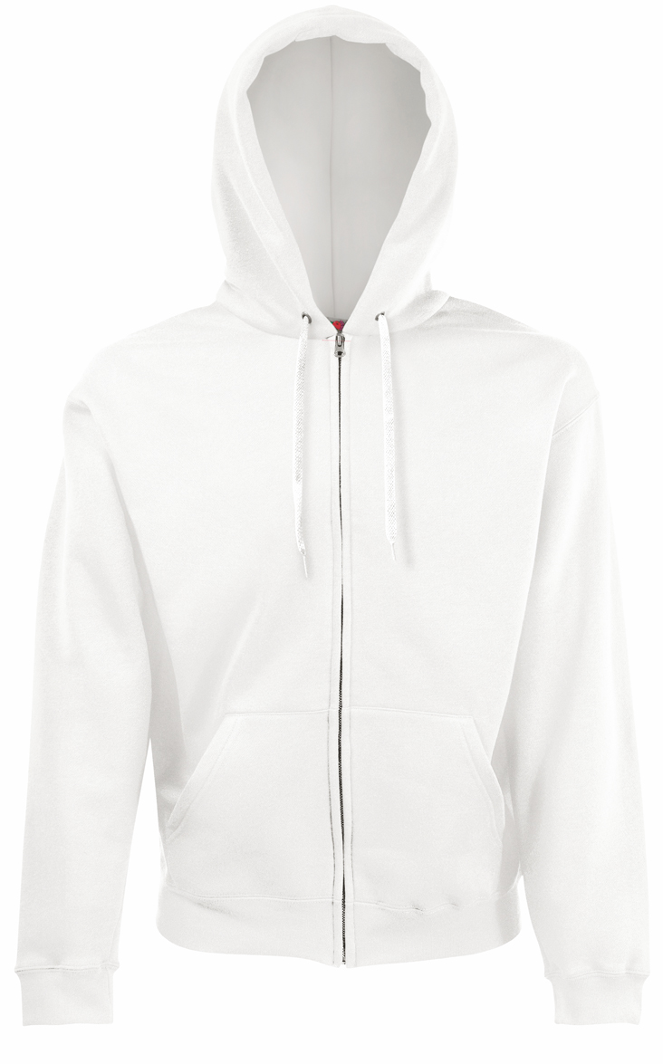 Fruit of the Loom Hooded Jacket 620620 White