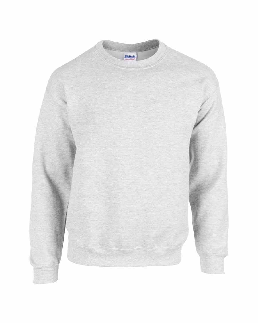Gildan Heavy Blend Crewneck Sweater ash