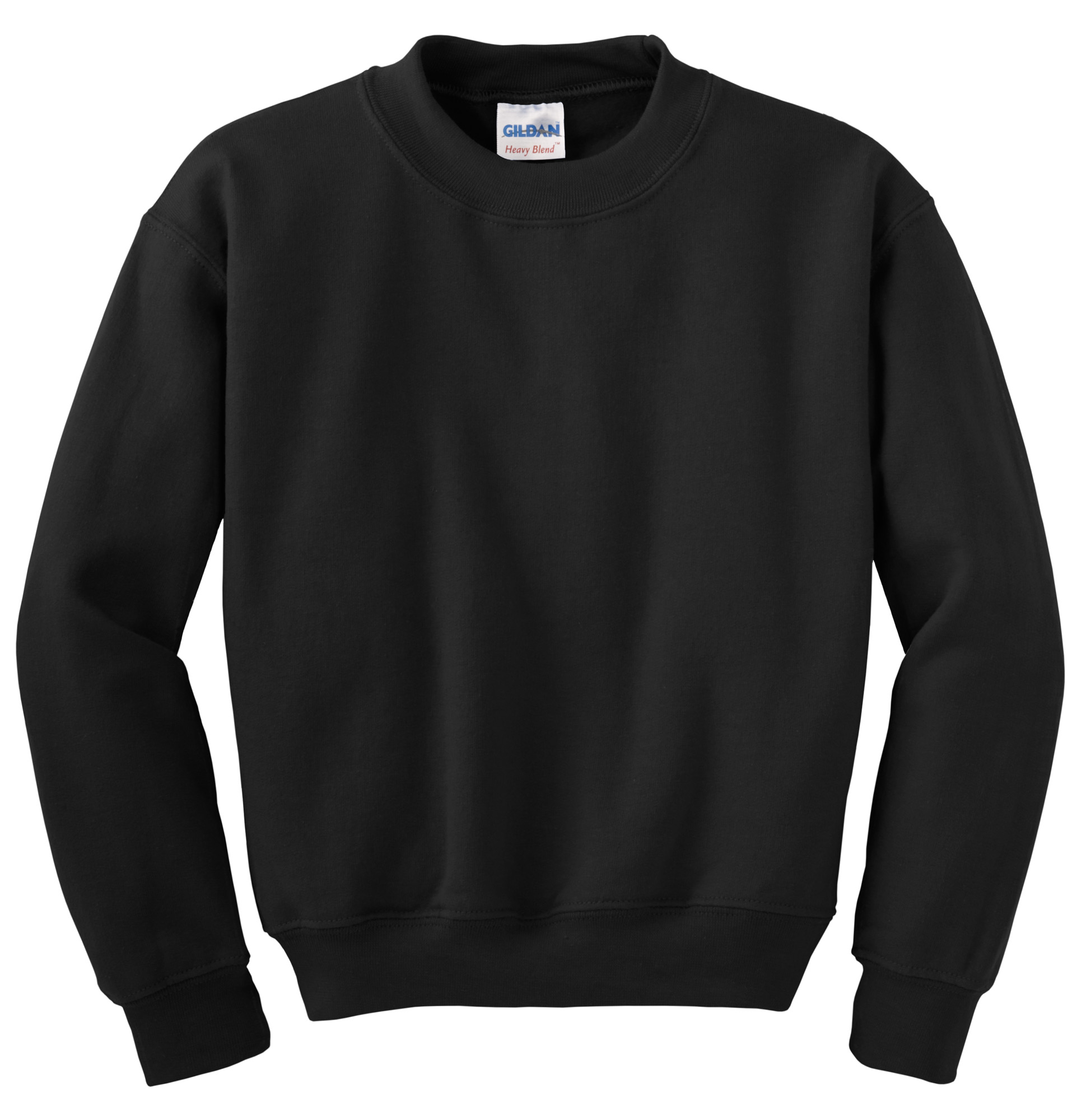 Gildan Heavy Blend Crewneck Sweater black