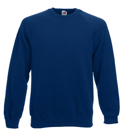 Fruit of the Loom Raglan Sweater SC4 Navy