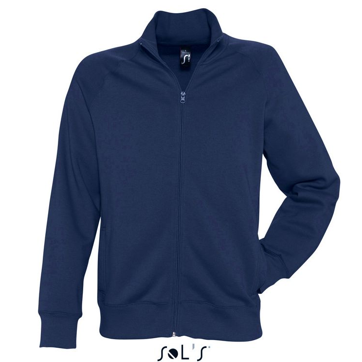 Sols Sundae Unisex Zip Sweater navy