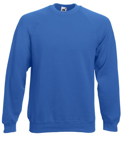 Fruit of the Loom Raglan Sweater SC4 Royal Blue