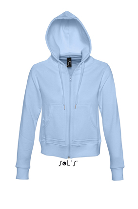 Sols Success Zip Hoodie sweater Sky Blue